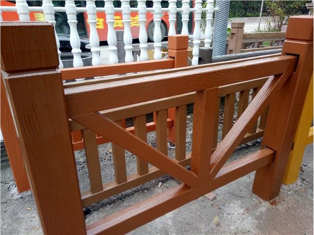 平字型仿木栏杆样品