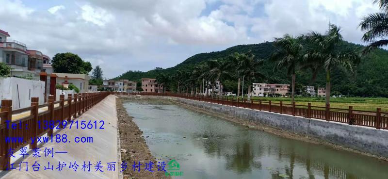 江门台山护岭村美丽乡村建设